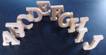 FREE STANDING WOODEN LETTERS/HOME DECOR/NAME. large MDF  wooden letters,numbers
